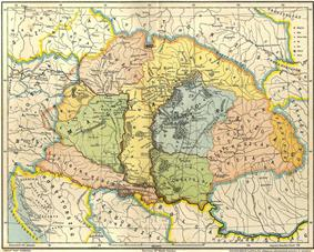 Map of the Carpathian Basin