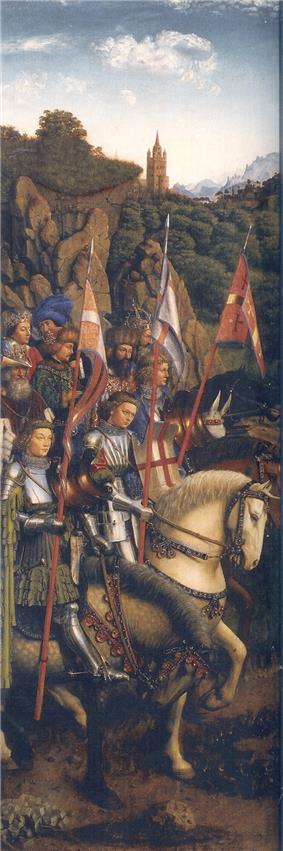 Knights of Christ Jan van Eyck