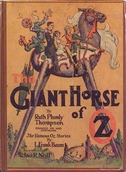 220px Cover of The Giant Horse of Oz.