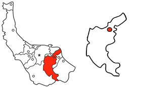 Location in Gilan Province and the Lahijan County