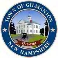 Official seal of Gilmanton, New Hampshire