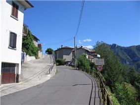 Street in Blello