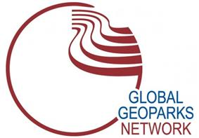 circular logo of the Global Geoparks Network