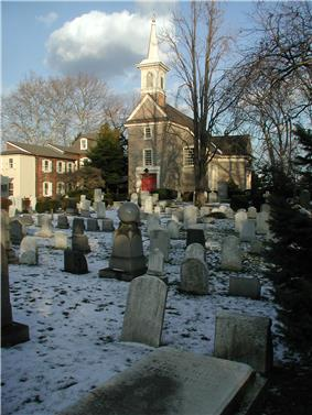 Old Swedes' Church in Queen Village