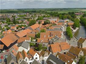 View over Goedereede