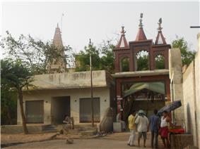 A temple in Gokul