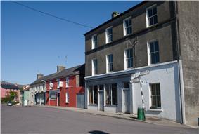 Main Street of Goleen