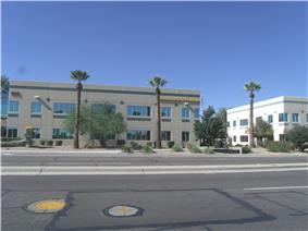 Modern Goodyear City Hall building located at 190 N Litchfield Road.
