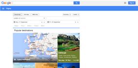 Google Flights screenshot