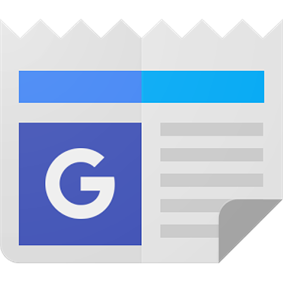 Google News Logo with Material Design