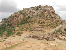 Gooty fort view