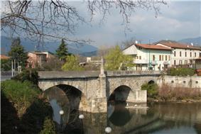 Bridge over the Serio River
