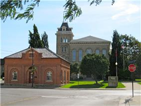 Governor Simcoe Square - Main Offices of Norfolk County