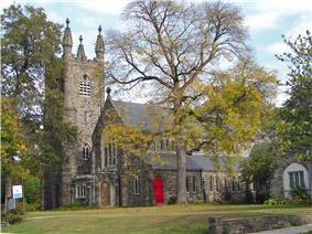 Grace Epiphany Episcopal Church on East Gowen Avenue.