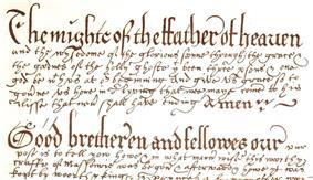 Introduction to Grand Lodge Manuscript no 1