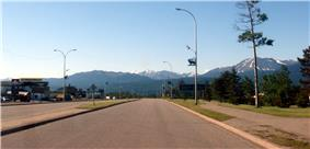 Highway 40 through Grande Cache