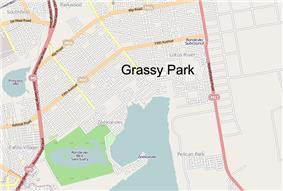 Street map of Grassy Park