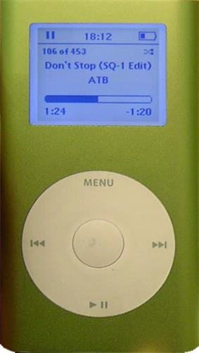 1st generation iPod Mini.