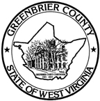 Seal of Greenbrier County, West Virginia
