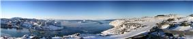 Panorama of Ilulissat