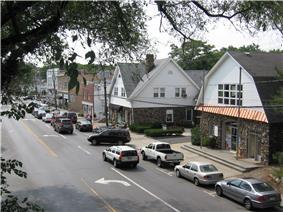 Sound Beach Avenue, west side