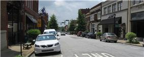 Downtown Greer, South Carolina
