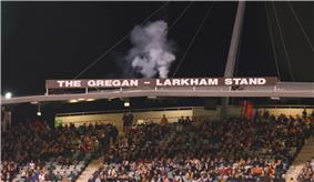 Picture of the Gregan Larkham Grandstand