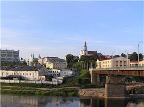 Skyline of Hrodna