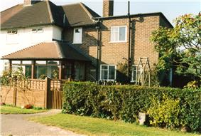 Bed and Breakfast house at Groombridge.