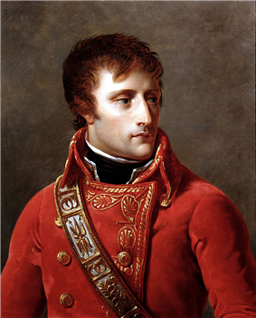 Napoleon Bonaparte as First Consul of the Republic.