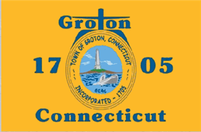 Flag of Groton, Connecticut