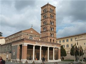 The cathedral of Exarchial Monastery of St. Mary of Grottaferrata
