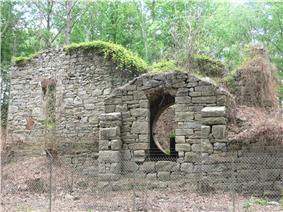 rough-hewn stone ruins