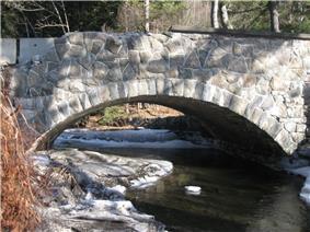 Great Hollow Road Stone Arch Bridge