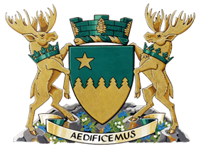 Coat of arms of Greater Sudbury