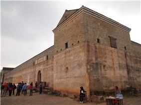 Guanxi Xinwei, a Hakka walled village