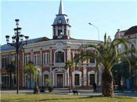 View of Gudauta's centre