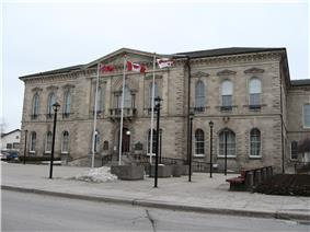 Exterior view of Guelph City Hall