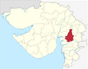 Location in Gujarat