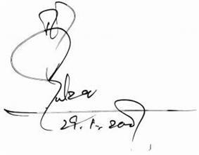 Gulzar signature