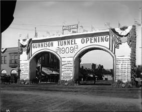 Opening of the Gunnison Tunnel