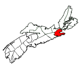 Location of Guysborough Municipal District