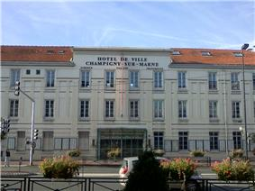 City hall, Champigny-sur-Marne