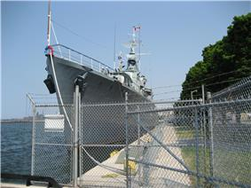 View of HMCS Haida at Hamilton Harbour