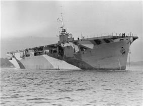 HMS Activity, 1942