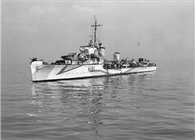 HMS Bulldog, 1945
