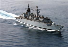 HMS Cornwall (F99), May 2007