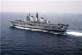 HMS Invincible in 1990