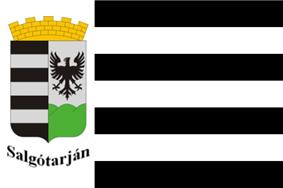 Flag of Salgótarján