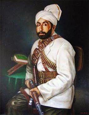 Habibullah Kalakani of Afghanistan
